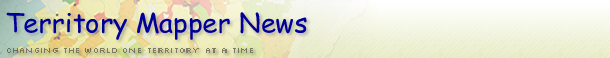 Territory Mapper News